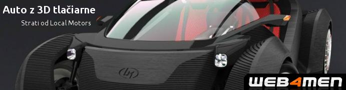 Strati - auto z 3D tlačiarne - WEB4MEN.sk